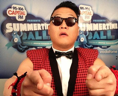 Psy At The Summertime Ball 2013 Twitter Mirror