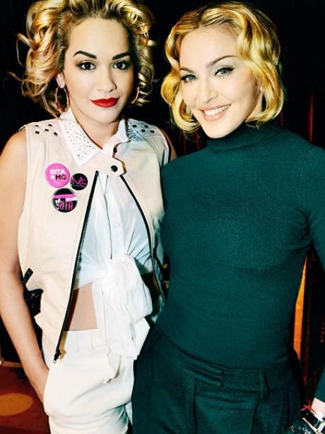 Rita Ora and Madonna
