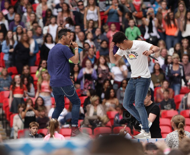 Rizzle Kicks At The Summertime Ball 2013
