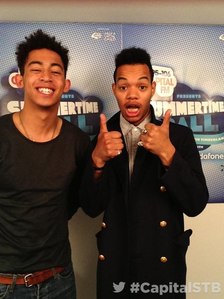 Rizzle Kicks At The Summertime Ball 2013 Twitter Mirror