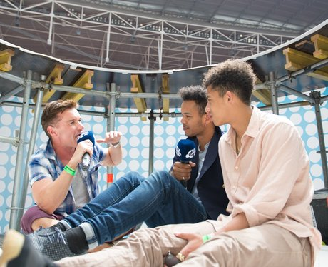 Rizzle Kicks Backstage At The Summertime Ball 2013