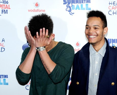 Rizzle Kicks Red Carpet At The Summertime Ball 201