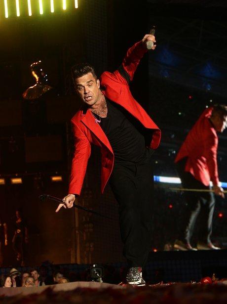 Robbie Williams Summertime Ball 2013