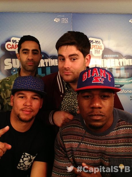Rudimental At The Summertime Ball 2013 Twitter Mirror