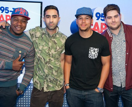 Rudimental Backstage At The Summertime Ball 2013
