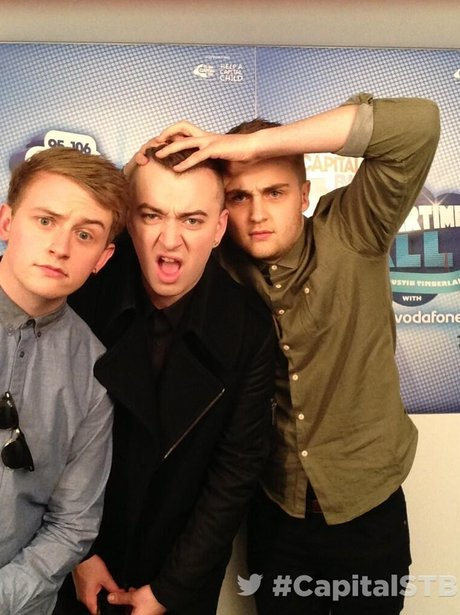 Sam Smith & Disclosure At The Summertime Ball 2013 Twitter Mirror