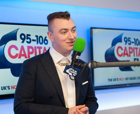 Sam Smith backstage at the Summertime Ball 2013