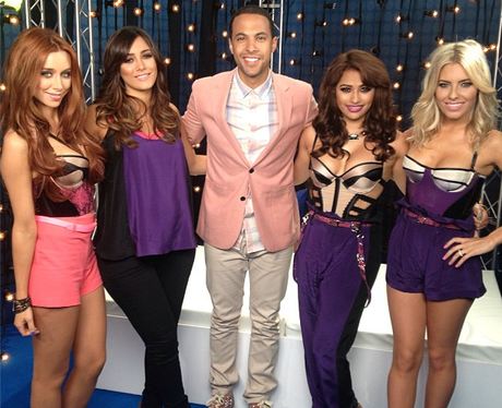 The Saturdays and Marvin