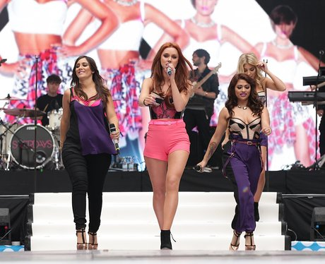 The Saturdays At The Summertime Ball 2013