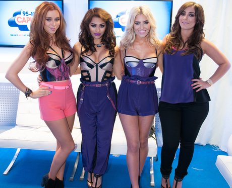 The Saturdays backstage at the Summertime Ball 201