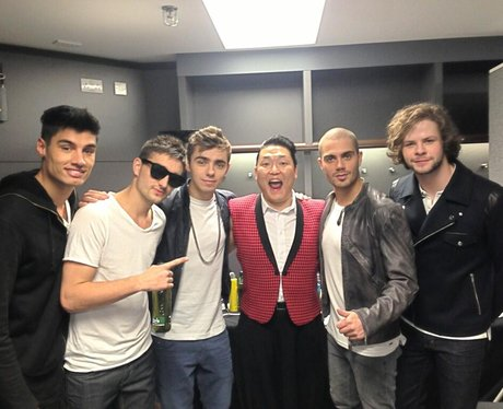 The Wanted and PSY