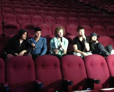 The Wanted in the cinema