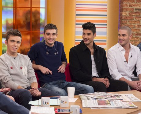 The Wanted on daybreak