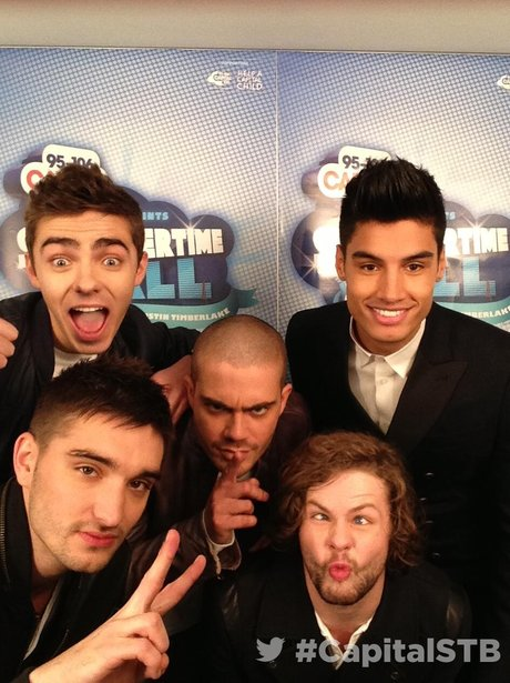 The Wanted At The Summertime Ball 2013 Twitter Mirror