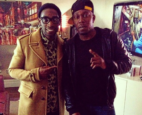 Tinie Tempah and Dizzee Rascal