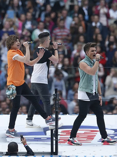 Union J At The Summertime Ball 2013
