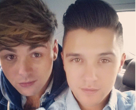 Union J's Jaymi And JJ On Instagram