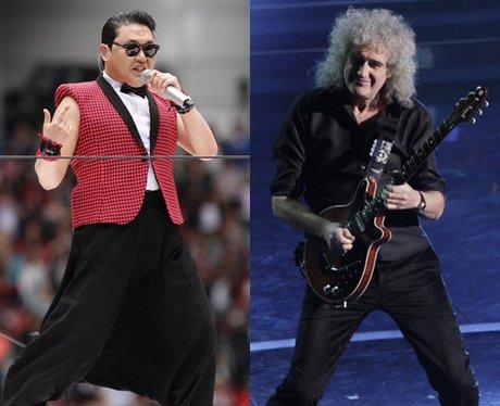 Brian May and PSY