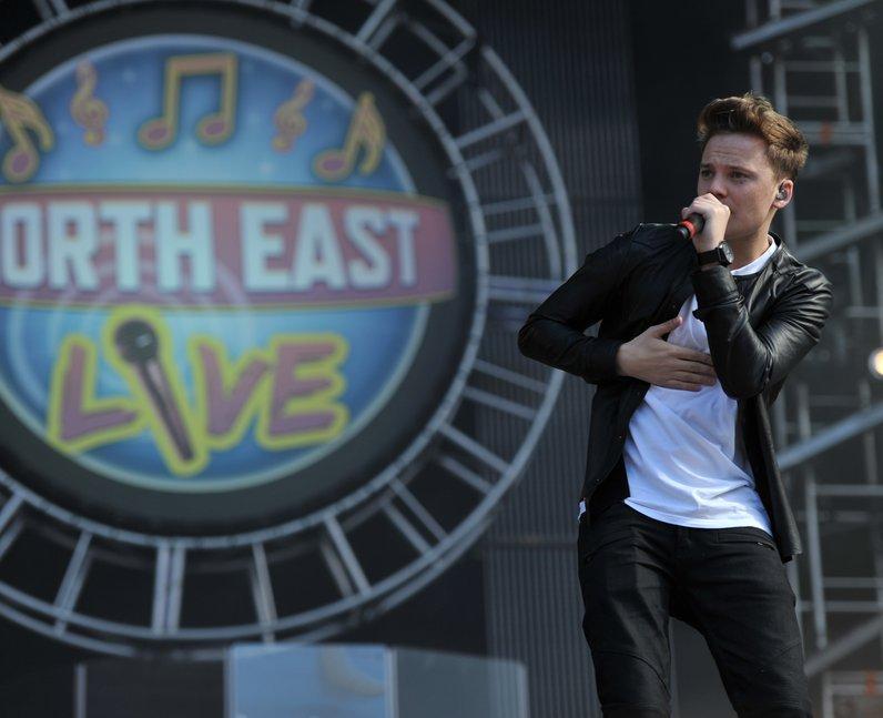 Conor Maynard at North East Live 2013