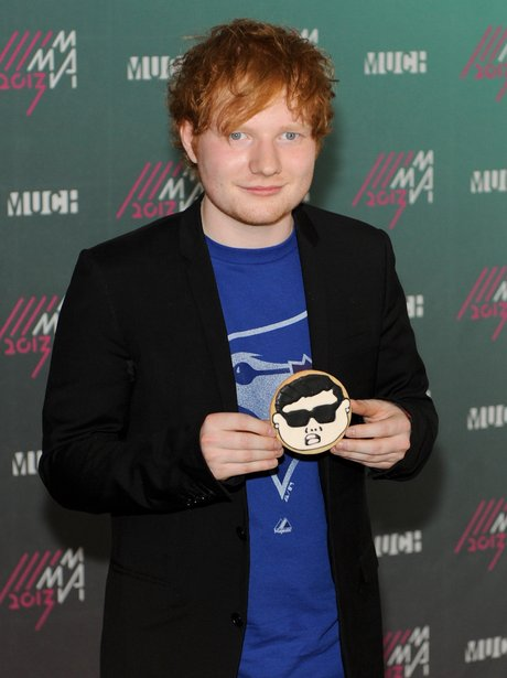 Ed Sheeran MuchMusic Video music awards 2013