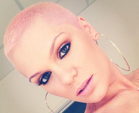 Jessie J Pink Hair Instagram