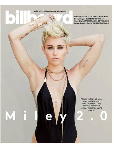 Miley Cyrus Billboard Magazine June 2013