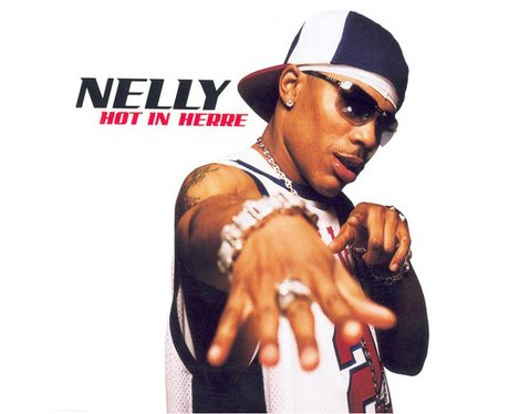 Nelly's 'Hot In Here' single artwork