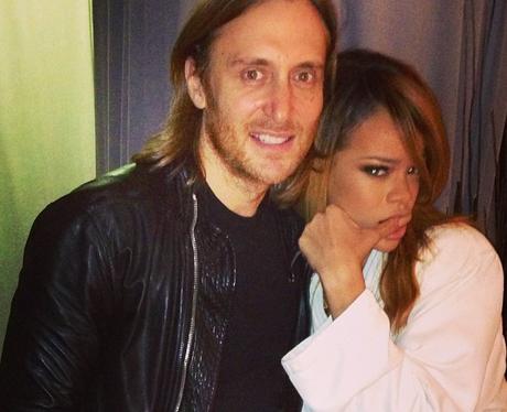 Rihanna and David Guetta Instagram