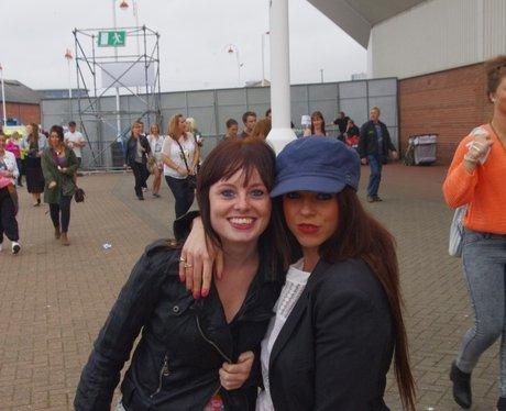 Rihanna at the Stadium Of Light