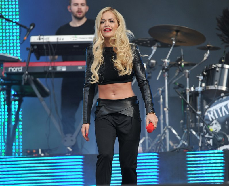 Rita Ora at North East Live 2013