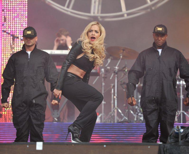 Rita Ora at North East Live 2013
