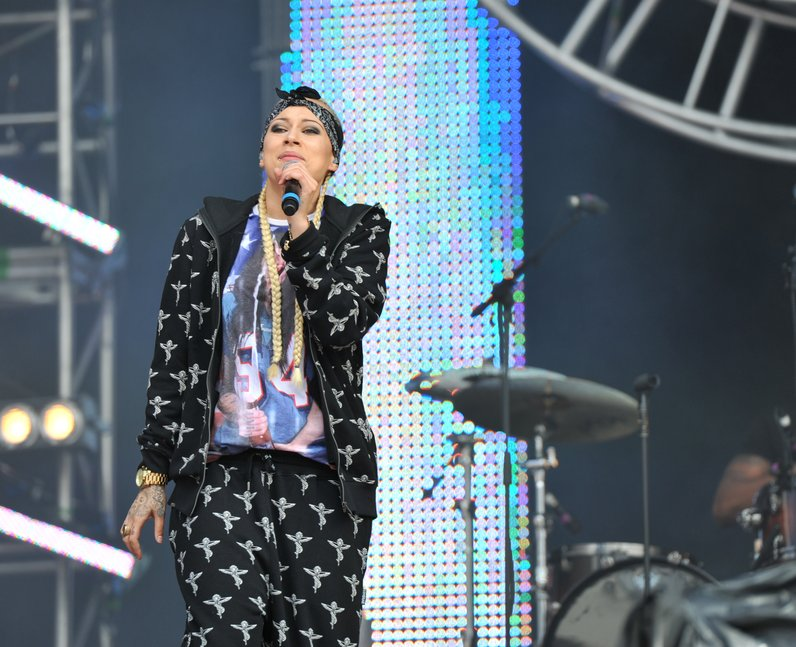 Stooshe Courtney at North East Live 2013