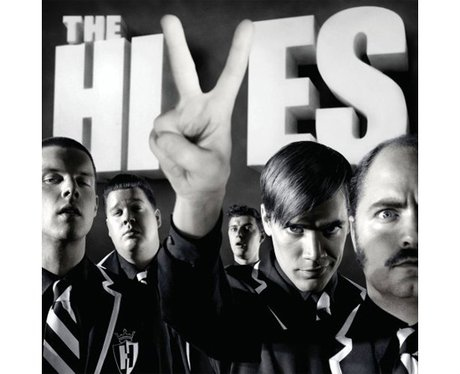 The Hives' 'Black and White' album cover