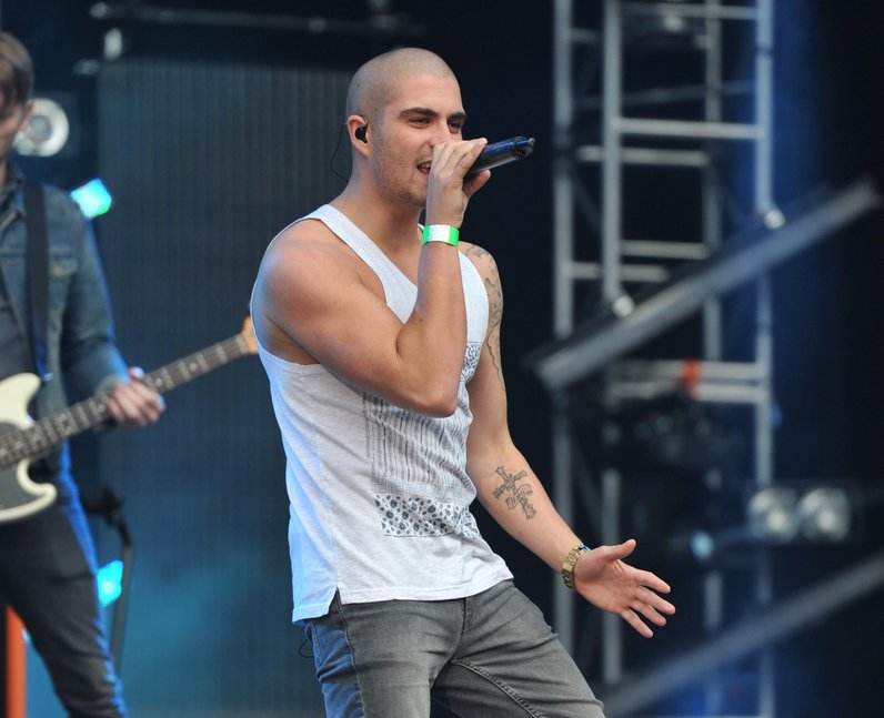 The Wanted's Max George at North East Live 2013