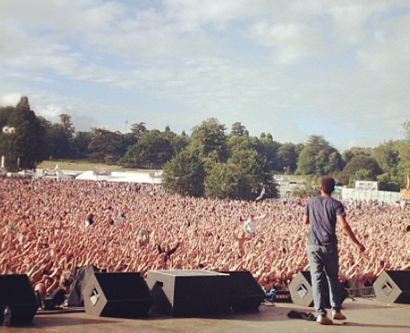View From The Stage: Rizzle Kicks