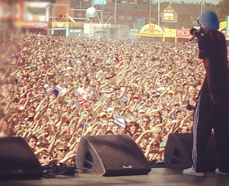 View From The Stage: Snoop Lion