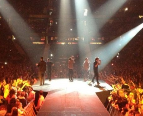 View From The Stage: The Wanted