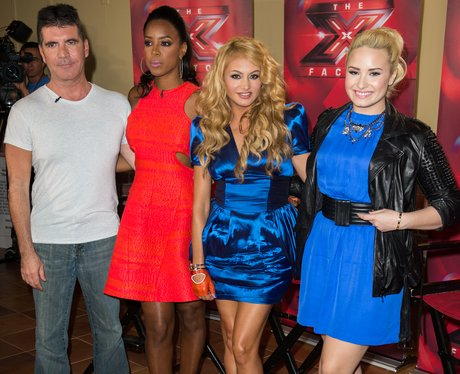 X Factor US Judges 2013