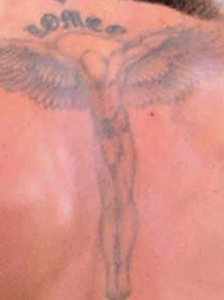 David Beckhams Tattoo