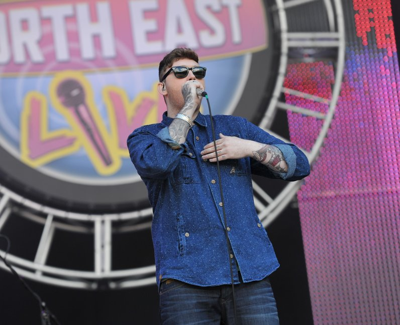 James Arthur at North East live 2013