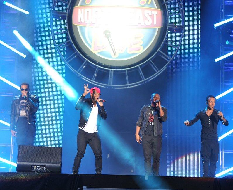 JLS at North East Live 2013