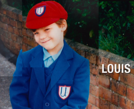 One Direction's Louis Tomlinson in school uniform in This Is Us Trailer