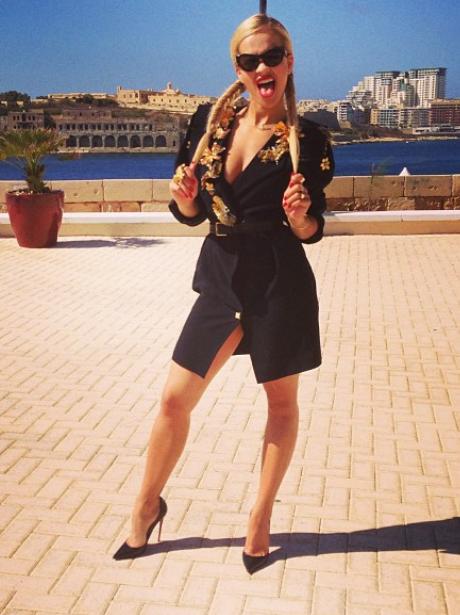 Rita Ora at the Isle of MTV event in Malta