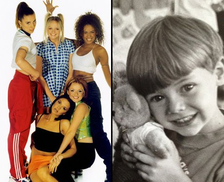 Spice Girls and Harry Styles side by side picture