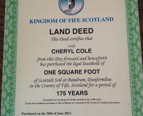 Cheryl Cole Land Twitter