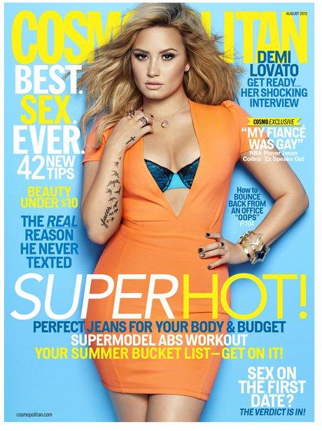 Demi Lovato Cosmopolitan July 2013