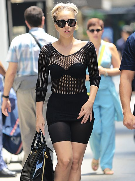 Lady Gaga revealing outfit