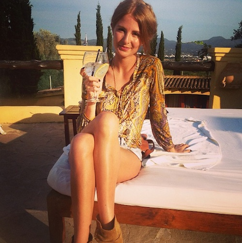 Millie Mackintosh On Holiday From Twitter