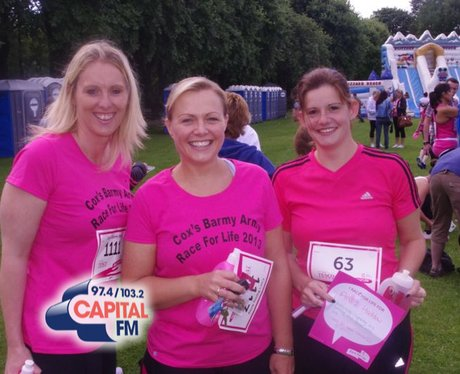 Race for Life in Cwmbran