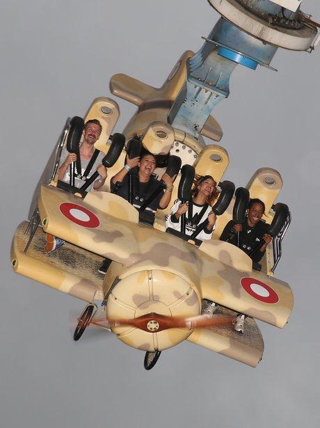 Rihanna at Tivoli Amusement park